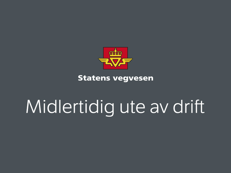 E134 Haukelifjell. Direction towards the west. Webcam: the NORWEGIAN public roads administration